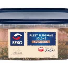 Filet śledziowe solone w zal.korzennej 2,5/3kg
