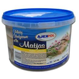 Filety śledziowe a'la Matjas 2kg