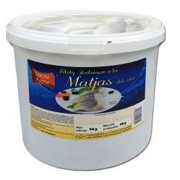 Filet śledziowy a'la matjas 4kg (drobny)