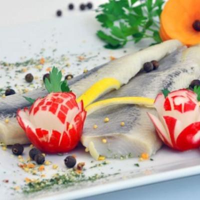 Filet śledziowy a'la matjas